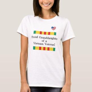 Proud Granddaughter Vietnam Veteran T-shirt