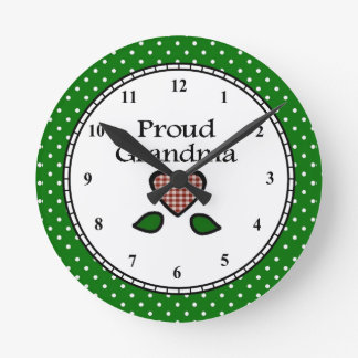 Proud Grandma Clock