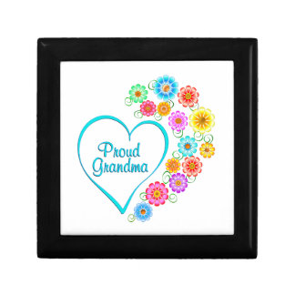 Proud Grandma Heart Gift Box