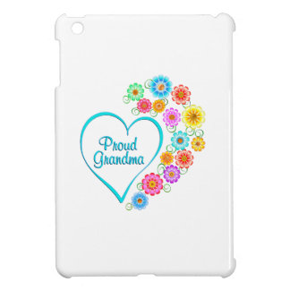 Proud Grandma Heart iPad Mini Cover