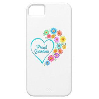 Proud Grandma Heart iPhone 5 Cases