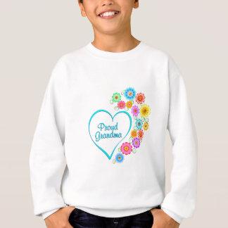 Proud Grandma Heart Sweatshirt