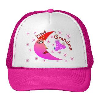 Proud Grandma New Baby Girl Gifts Hat