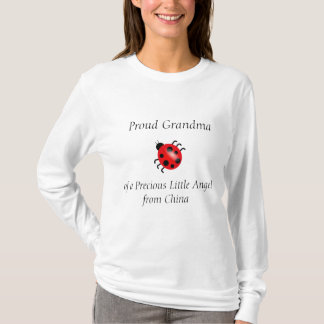Proud Grandma of a Precious Angel from China T-Shirt