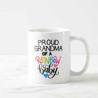 Proud Grandma Of A Rainbow Baby Cup Mug