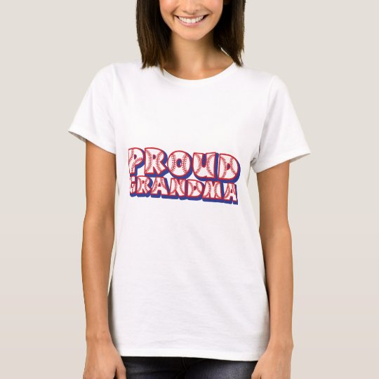 PROUD Grandma, red-wh-blue T-Shirt