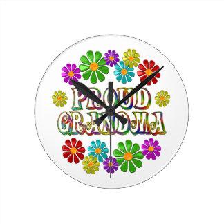Proud Grandma Wall Clock