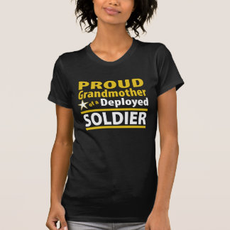 Proud Grandmother of a Deployed Soldier Shirt