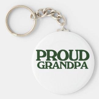 Proud Grandpa Keychain