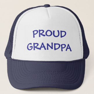 PROUD GRANDPA TRUCKER HAT