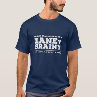 Proud Grandparent of a Zaney Brainy Men's Tee