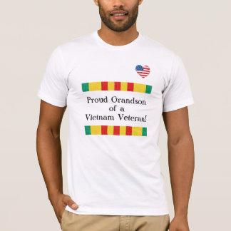 Proud Grandson Vietnam Veteran T-Shirt
