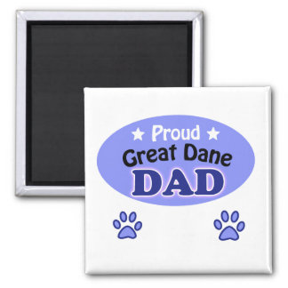 Proud great dane dad magnet