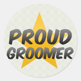 Proud Groomer Sticker