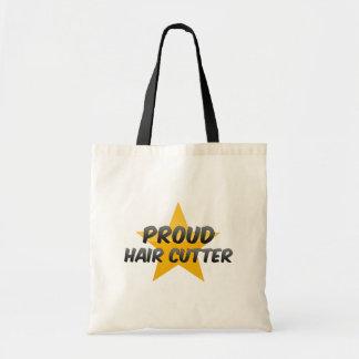 Proud Hair Cutter Canvas Bag