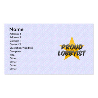 Proud High School Administrator Business Card