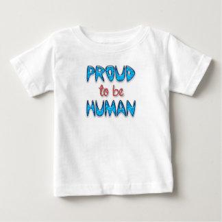 Proud Human Fine Jersey Baby T-Shirt