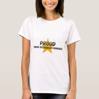 Proud Human Resources Manager T-Shirt