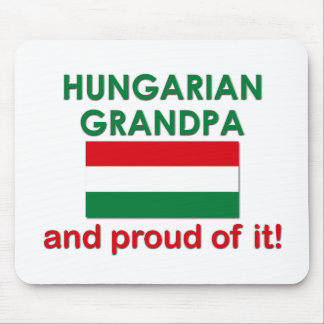 Proud Hungarian Grandpa Mousepad