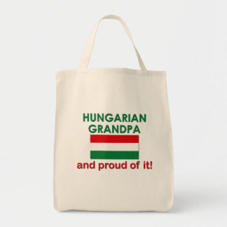Proud Hungarian Grandpa Tote Bag