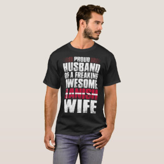 Proud Husband Of Awesome Danish Wife Tshirt