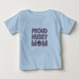 Proud Husky Mom Baby T-Shirt