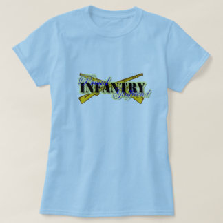 Proud Infantry Girlfriend T-Shirt