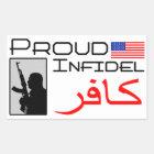 Proud Infidel Sticker