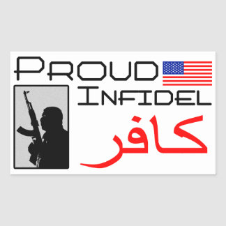 Proud Infidel Sticker