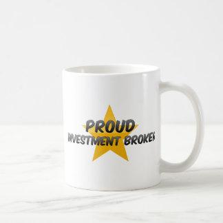 Proud Investment Broker Coffee Mug