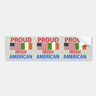 Proud Irish American Bumper Sticker
