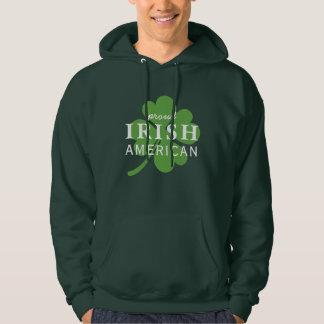 Proud Irish American St. Patrick's Day Hoodie