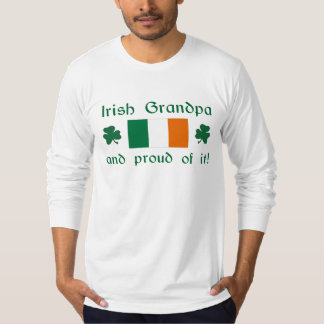 Proud Irish Grandpa T-Shirt