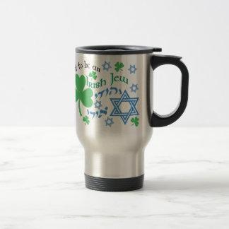 Proud Irish Jew Travel Mugs