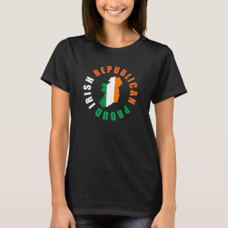 Proud Irish Republican Womens TShirt