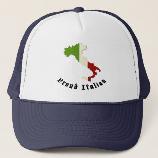 Proud Italian Retro Trucker Hat Cap