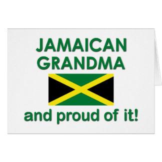 Proud Jamaican Grandma Card