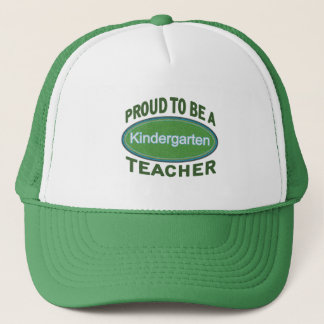 Proud Kindergarten Teacher Trucker Hat