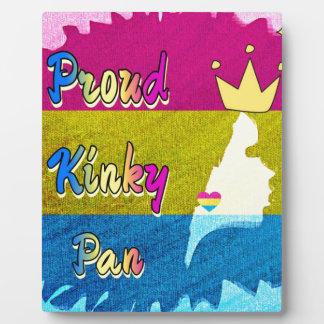 Proud Kinky Pan Collection Display Plaque