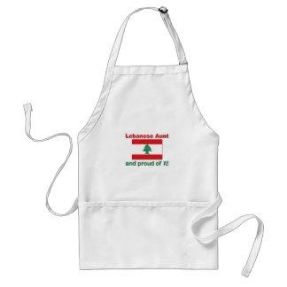 Proud Lebanese Aunt Standard Apron
