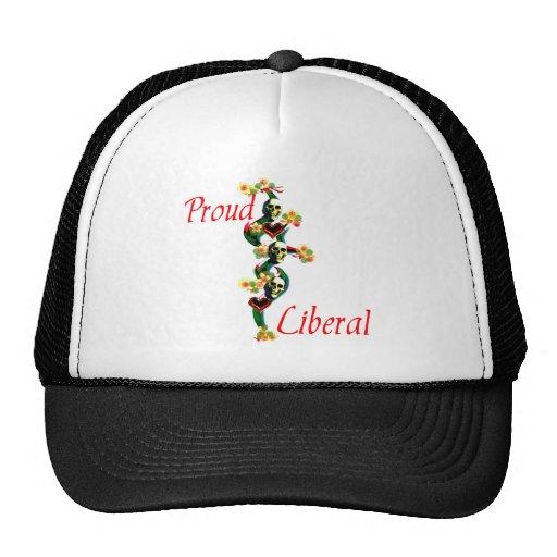 Proud Liberal Mesh Hat