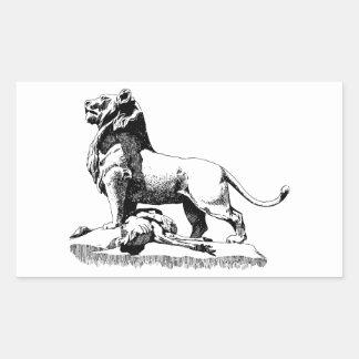 Proud Lion Sticker