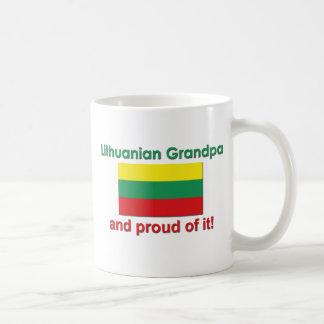 Proud Lithuanian Grandpa Coffee Mug