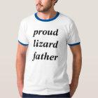 Proud lizard father tshirts