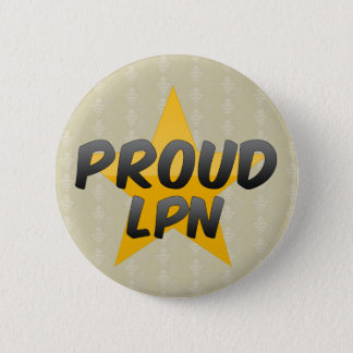 Proud Lpn 2 Inch Round Button
