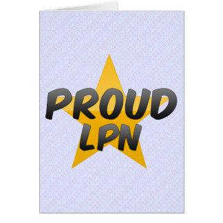 Proud Lpn Cards