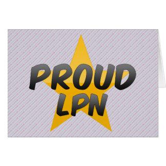 Proud Lpn Greeting Card