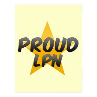 Proud Lpn Postcard