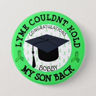 Proud Lyme Graduation Button