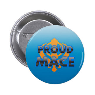 Proud Mace, Mace pride 2 Inch Round Button